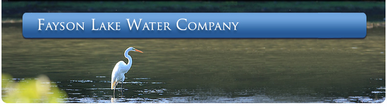 Fayson Lake Water Company